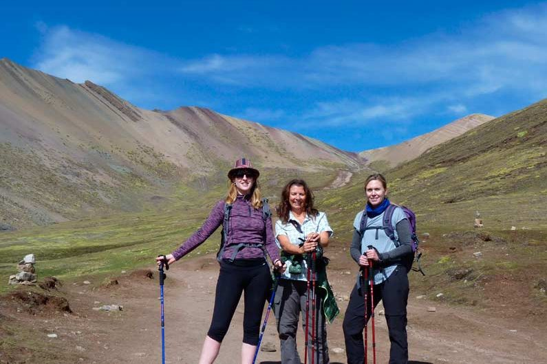 caminata a la montaña de colores vinicunca